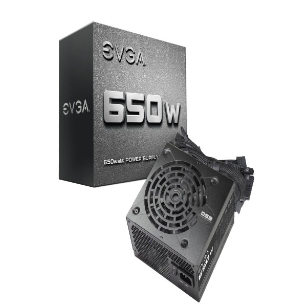 Nguồn EVGA 650 N1, 650W, 2 Year Warranty, Power Supply 100-N1-0650-L1 1