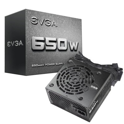Nguồn EVGA 650 N1, 650W, 2 Year Warranty, Power Supply 100-N1-0650-L1
