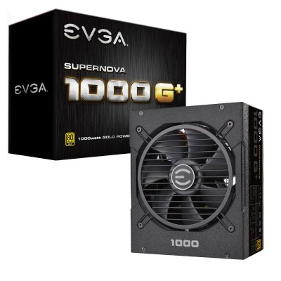 Nguồn EVGA SuperNOVA 1000 GP, 80 Plus Gold 1000W, Fully Modular, FDB Fan, 10 Year Warranty, Includes Power ON Self Tester, Power Supply 120-GP-1000-X1