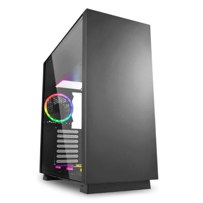 Vỏ Case Sharkoon Pure Steel (Black & RGB)